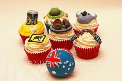 Australia Cupcakes - Cake by Cupcakes by Amanda