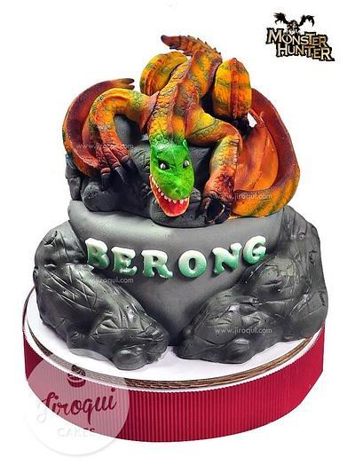Monster Hunter Dragon Cake - Cake by Kay
