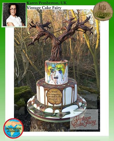 Acts of Green 2016..Hireath - Cake by Vintage Cake Fairy