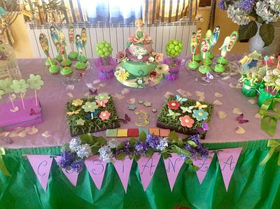 Trilly table - Cake by Dolcemi