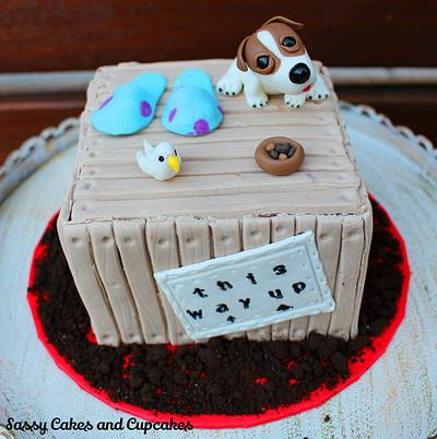 Crate of Angels - Special Delivery - Cake by Sassy Cakes and Cupcakes (Anna)