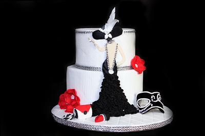 Making of a woman  - Cake by FlourDust