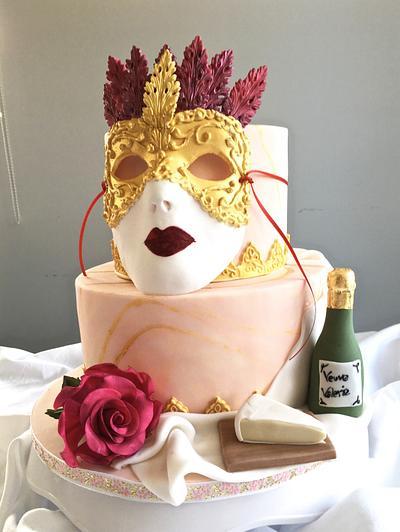80th birthday cake - Cake by TheArtofCakes