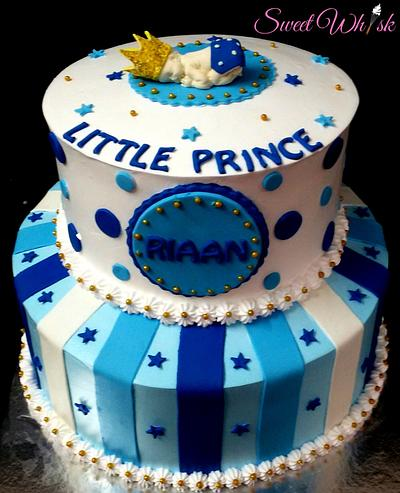 Little Prince Fresh Cream Cake - Cake by Karen