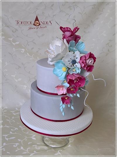 50th birthday cake - Cake by Tortolandia