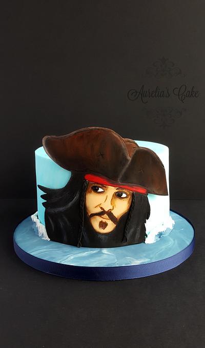 Jack Sparrow cake - Cake by Aurelia's Cake