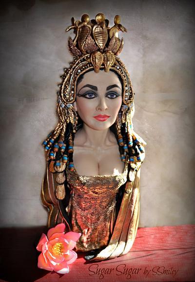 Cleopatra - Egypt Land of Mystery - Cake by Sandra Smiley
