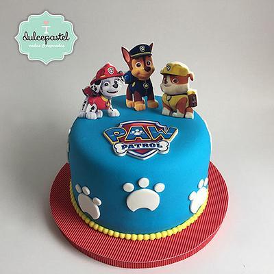 Torta Patrulla Canina - Cake by Dulcepastel.com