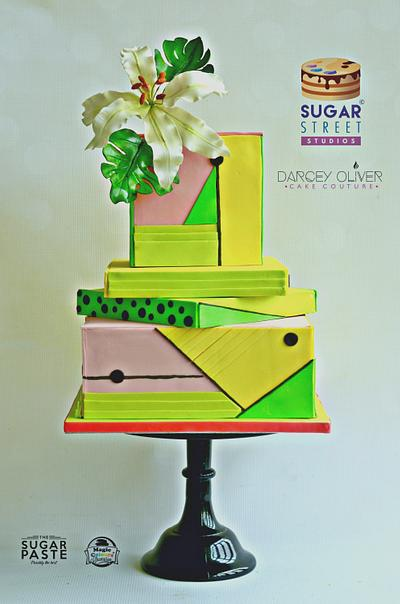 Miami Brights - Cake by Sugar Street Studios by Zoe Burmester