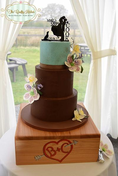 Easter Spring Wedding Cake - Cake by The Crafty Kitchen - Sarah Garland
