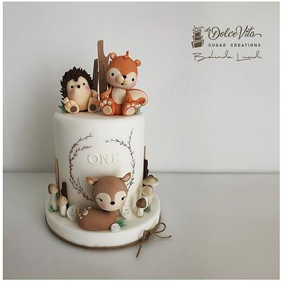 Woodland Friends - Cake by AppoBli Belinda Lucidi