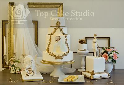 cakes and sugar flowers - Cake by TopCake Studio