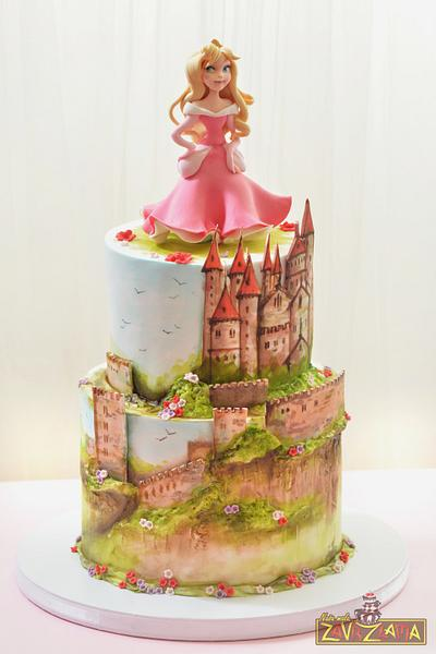 Princess Aurora Cake - Cake by Nasa Mala Zavrzlama