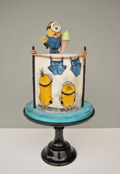 Minion - Cake by daruj tortu