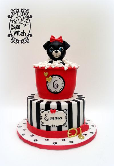 A Puppy Dream - Cake by Nessie - The Cake Witch