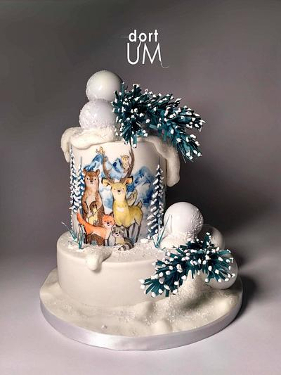 Winter time - Cake by dortUM