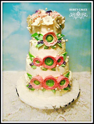 Wedding cake - Cake by Bethann Dubey