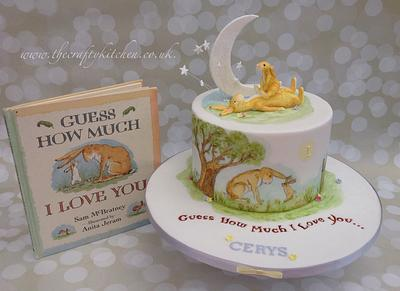 Guess How Much I Love You........ - Cake by The Crafty Kitchen - Sarah Garland