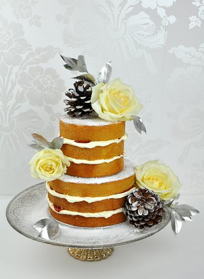 Winter naked cake - Cake by Mrs Robinson's Cakes