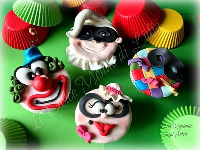 Carnival cupcakes - Cake by Il Dolce Mondo di Lidia