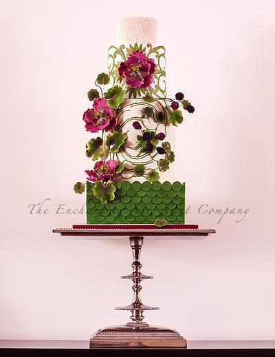 A Gilded Evening - Cake by Enchanting Merchant Company