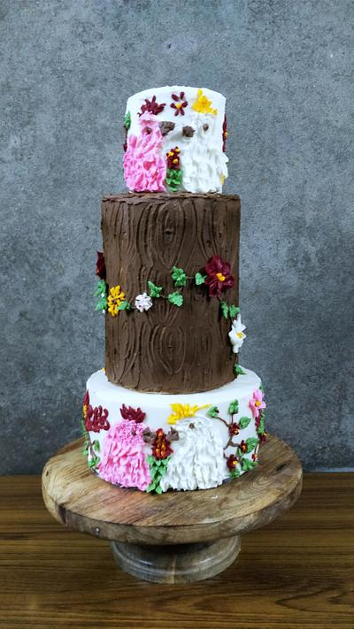 Caker buddies collaboration morning glory - Cake by Manncakes13