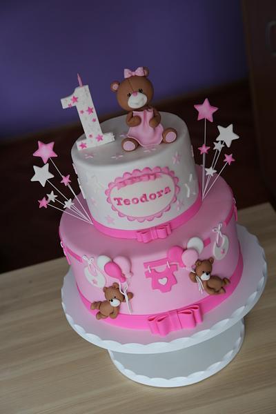Sweet teddy cake - Cake by Zaklina