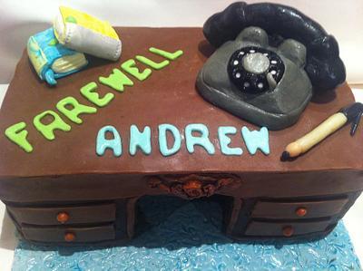 Farewell cake - Cake by Cakemummy