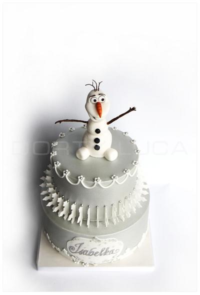 Olaf - Cake by Dorty LuCa