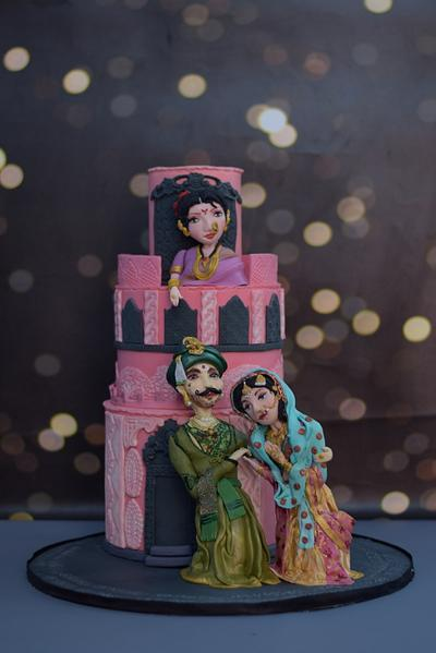 Bajirao Mastani  - Cake by divya saraf