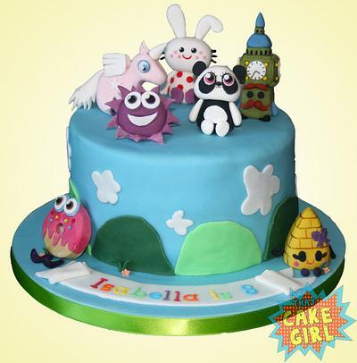 moshi monsters - Cake by Rachel White