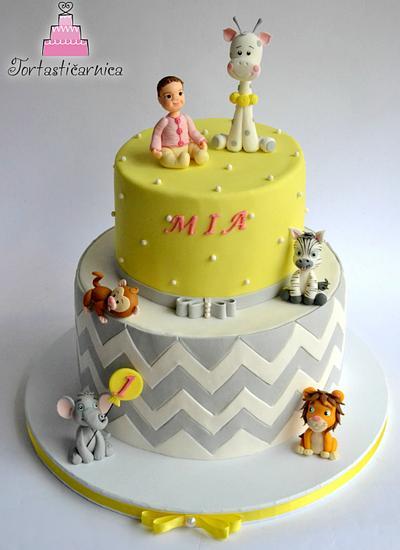 Baby animals cake - Cake by Nataša