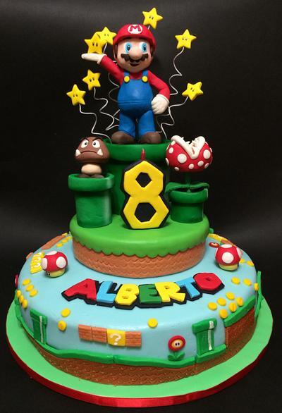 Super Mario Cake - Cake by Davide Minetti