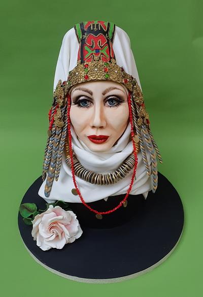 Bulgarian woman  - Cake by Lidiya Petrova