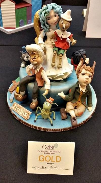 Pinocchio - Cake by Sabrina Di Clemente