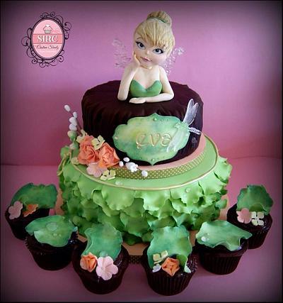 Tinkerbell - Cake by Cristina Sbuelz