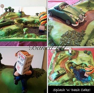 Splash & Dash Cake! - Cake by Baked4U