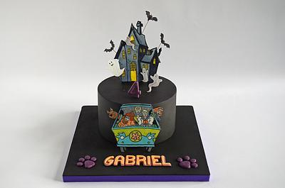 Scooby Doo's Haunted House - Cake by The Chain Lane Cake Co.