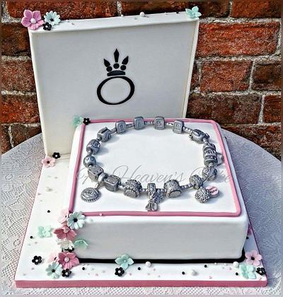 Pandora Box  - Cake by Bobbie-Anne Wright (For Heaven's Cake)