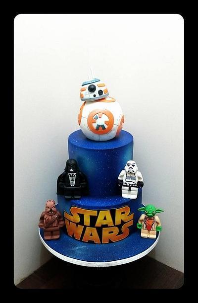 starwars lego cake - Cake by zullu