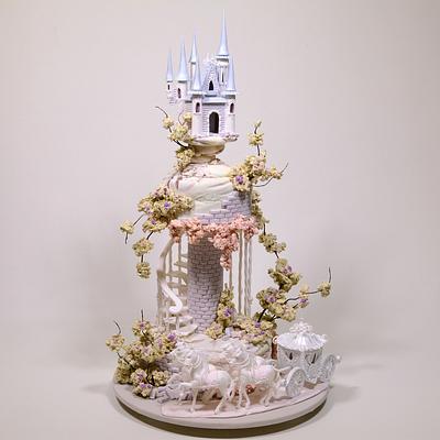 Fairy Tale Wedding Cake - Cake by Serdar Yener   Yeners Way - Cake Art Tutorials