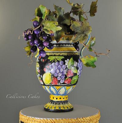 Italian Wedding Cake - CAKES INTERNATIONAL 2013 - Cake by Calli Creations