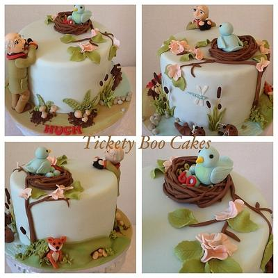 Tickety Boo storyboard - Nature Watch - Cake by Tickety Boo Cakes