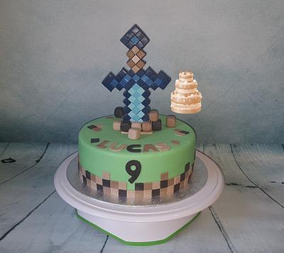 Minecraft Cake - Cake by Pluympjescake