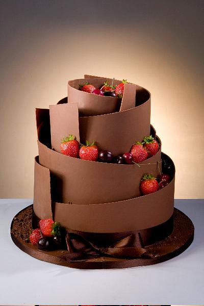 Deliciously Decadent Chocolate - Cake by Patricia