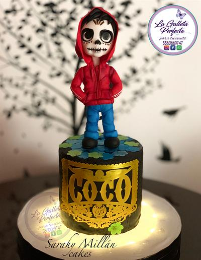 Miguel from Coco movie - Cake by Sarahy Millán