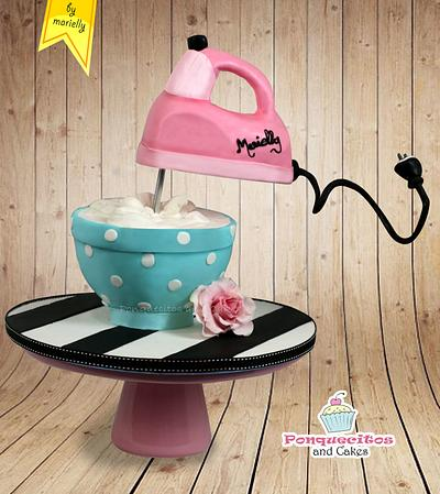 Gravity Batteur Cake - Cake by Marielly Parra