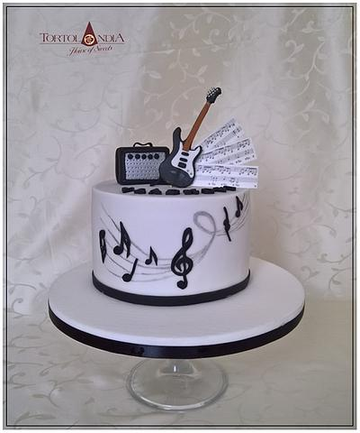 Music cake - Cake by Tortolandia