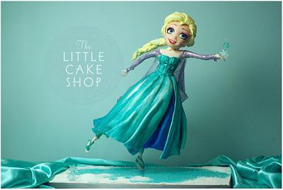 Ice Skating Princess Cake - Cake by Dominique Ballard