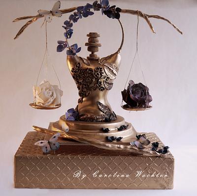 """Sugar Myths and Fantasies 2.0 global Edition """"Balance"""" - Cake by carolina Wachter"""